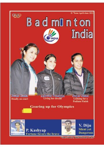 Vol.1 Issue I 2012 - Badminton Association of India