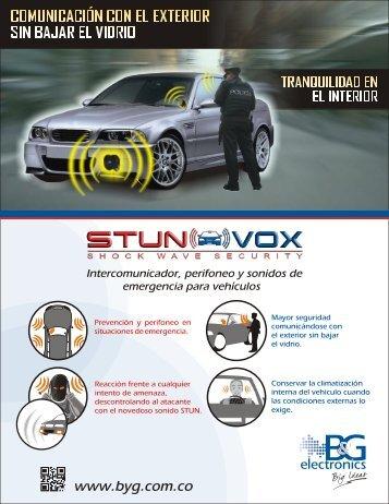 Intercomunicador, perifoneo y sonidos de emergencia para vehículos