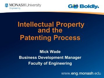 Intellectual Property - Faculty of Engineering