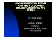 hungarian national report and the following implementation ... - INBO