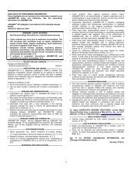 Prescribing Information for JANUMET XR - Merck & Co., Inc.
