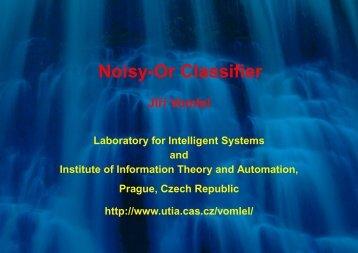 Noisy-Or Classifier