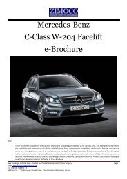 (W-204) Facelift - zimoco
