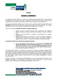 Avviso DR45 Agosto 2012 - BCC Vignole