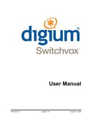Switchvox User Manual.pdf - Starnet Data Design, Inc