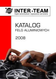 FELGI aluminiowe KATALOG krzywe.cdr - Inter-Team
