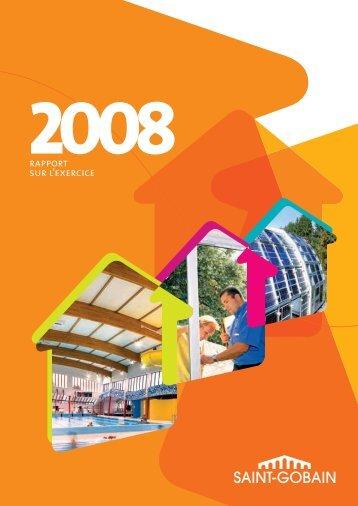 sain t-gobain rapport sur l'ex ercice 2008 rapport ... - Info-financiere.fr