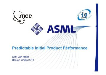 Initial Product Performance - Hardware Conference