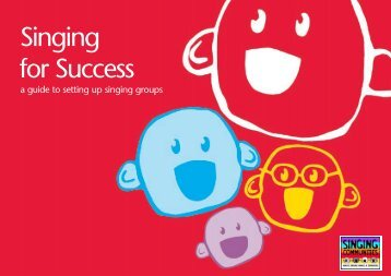 sfs booklet - Sing Up