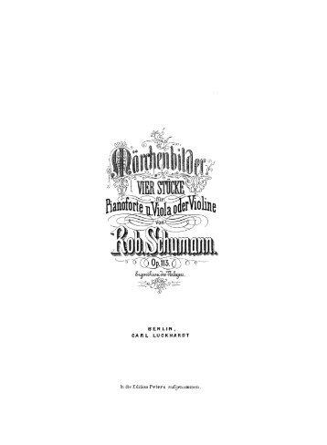 IMSLP27534-PMLP42831-Schuman_Marchenbilder