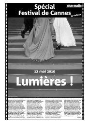 Spécial Festival de Cannes