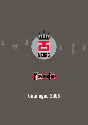 MasterFix Product catalogue - GearByte Technologies