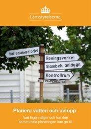 Planera vatten och avlopp - Miljösamverkan Sverige