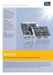 BATFUSE - SMA Solar Technology AG