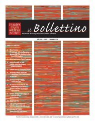 Il Bollettino - Center for the Biology of Natural Systems - CUNY