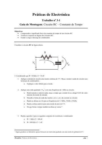 Circuitos RC - Usage Statistics for alibaba.dei.uminho.pt