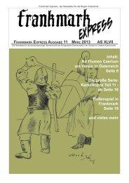 Frankmark Express Ausgabe 11, März 2013 - Vielburgen