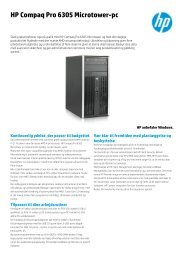 HP Compaq Pro 6305 Microtower