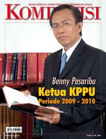 Edisi 14 Tahun 2009 - KPPU