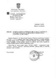 5.9. Izvješće Zajednice sportskih udruga o izvršenju Programa u ...