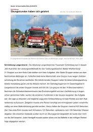Bericht aus dem SchwaBo - Feuerwehr Neubulach Abteilung ...