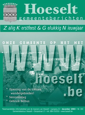 december - Hoeselt.Be
