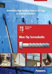 DeWalt Bluetip Tête Hexagonale Fileté screwbolts 10 x 75 mm//10 x 120 mm-Packs De 50