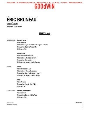 ÉRIC BRUNEAU - Agence Goodwin