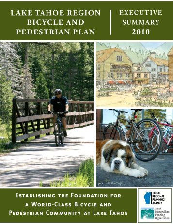 Lake Tahoe Region BicycLe and PedesTRian PLan