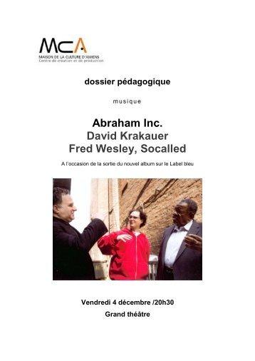 dossier pédagogique - Maison de la Culture d'Amiens
