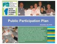 Public Participation Plan - Tahoe Metropolitan Planning Organization