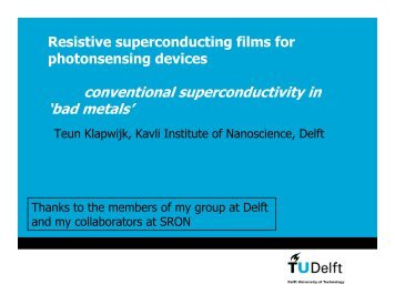 conventional superconductivity in 'bad metals'