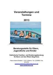 Beratungsstelle für Eltern, Jugendliche und ... - Frühe Hilfen Bonn