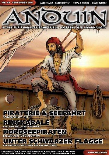 piraterie & seefahrt ringkabale nordseepiraten unter ... - Anduin