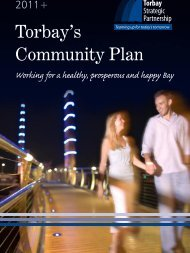 Community Plan - Torbay Council