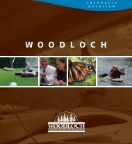 view corporate overview - Woodloch Meetings