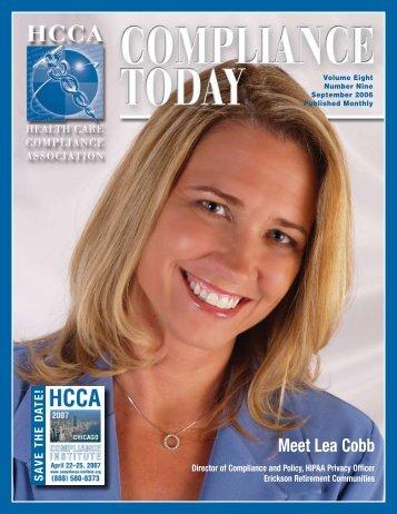 JO - Health Care Compliance Association