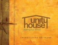 celebrating 40 years celebrating 40 years - Unity House