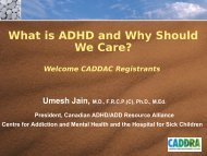 What is ADHD and Why Should We Care? - Caddac