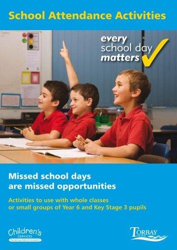 School Attendance Activities