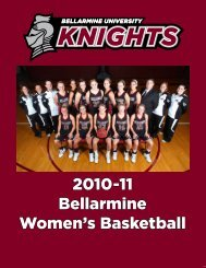 2010-11 Bellarmine Women's Basketball - Bellarmine Athletics ...