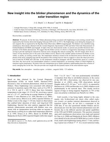 Full Paper - PDF - Armagh Observatory