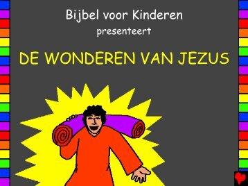 wonderen van Jezus - Bible for Children