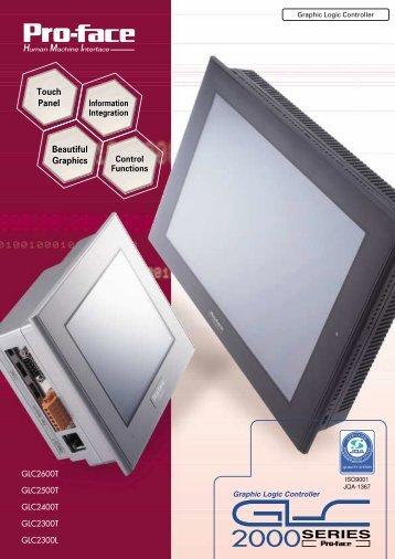 GLC2000 Series HMI Catalog - Barr-Thorp Electric