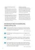 Fra konvention til kommunal handicappolitik - Socialstyrelsen - Page 6