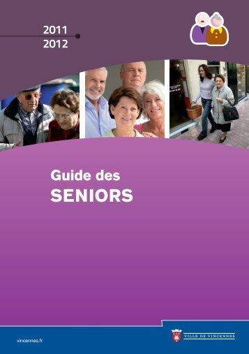 guide des seniors 2011 2012 (pdf - 5,26 Mo) - Ville de Vincennes