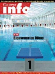 Vincennes Infos / Septembre 2011