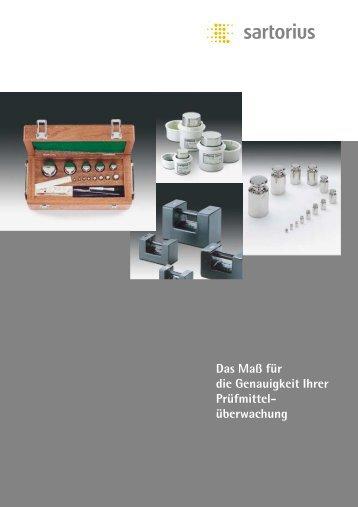 Produktblatt Gewichte, PDF (288 KB)