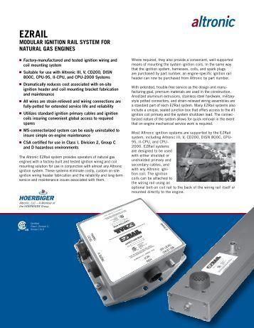 EZRail System Brochure - Altronic Inc.