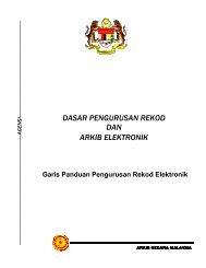 Garis Panduan Pengurusan Rekod Elektronik